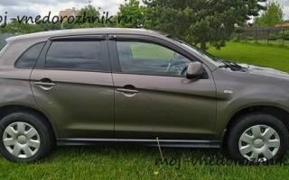 Отзывы о Mitsubishi ASX