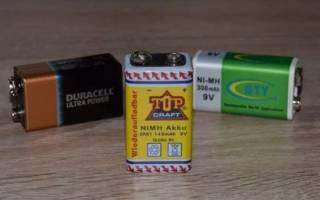 Что такое батарейка крона?