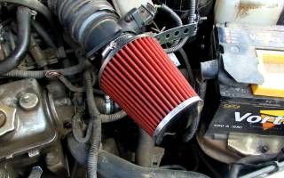 Воздушный фильтр нулевого сопротивления плюсы и минусы