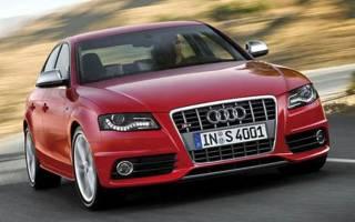 Обзор автомобиля Audi S4