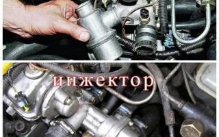 Как поменять термостат на двигателе