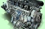 Характеристики двигателя