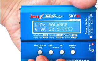 Подробный обзор зарядного устройства IMax B6 mini