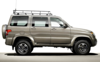 Как сделать багажник для крыши УАЗа Хантер самостоятельно