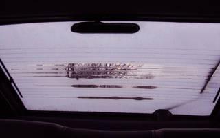 Как работает обогреватель заднего стекла