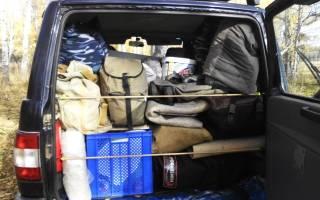 Сохранность багажника и салона при перевозке груза