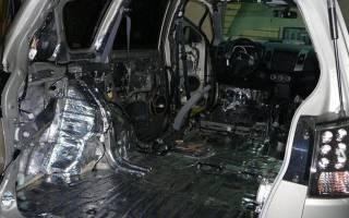 Как сделать шумоизоляцию автомобиля?