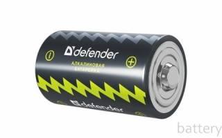 Характеристики батарейки LR20