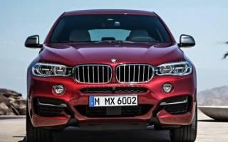 Тест-драйв и фото кроссовера BMW X6 2015