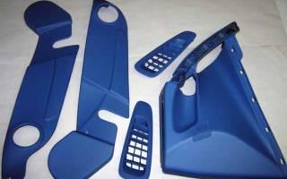 Окраска пластиковых деталей в гаражных условиях
