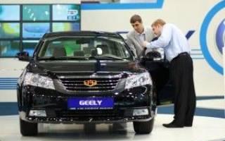 Geely бьет все по экспорту машин в Россию