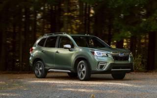 Обновленный Subaru Forester