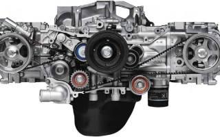 Общее описание и особенности мотора ej204