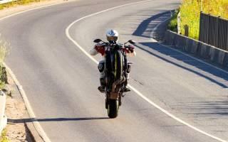 Как разъехаться с мотоциклистом