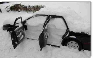Комплектуем автомобиль на зиму