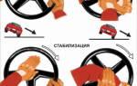 Удержание автомобиля от опрокидывания