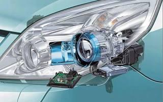 О ксеноновых лампах для автомобиля