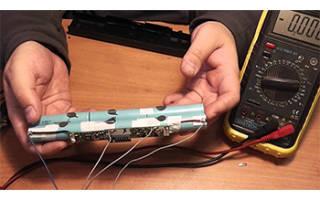 Как самостоятельно произвести ремонт аккумулятора ноутбука