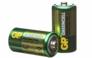 Виды батареек и их параметры