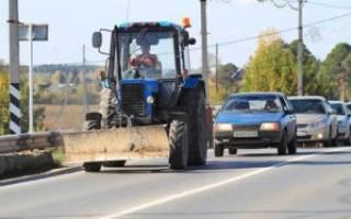 Штраф для водителей тихоходных транспортных средств
