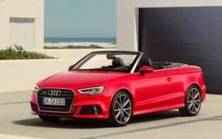 Обзор Audi A3 Cabriolet