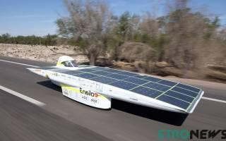 Как работает автомобиль на солнечных батареях