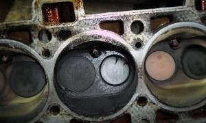 Признаки и причины прогара клапана двигателя