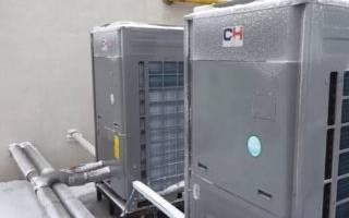 Отопление тепловым насосом воздух-воздух