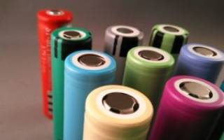 Аккумулятор для электронной сигареты