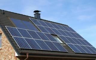 Применение солнечных батарей для отопления частного дома