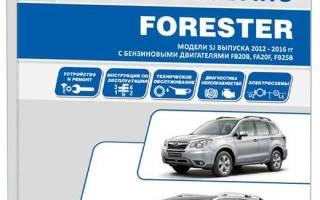 Двигатели Subaru Forester 2012 (Субару Форестер 2012)