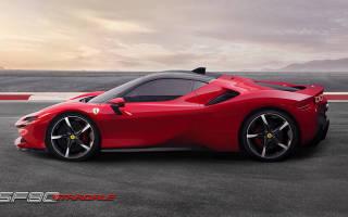 Передовая модель Ferrari получит под 1000 «лошадей»