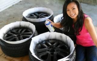 Как покрасить диски на авто самому. Видео урок