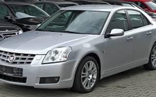Обзор Cadillac BLS