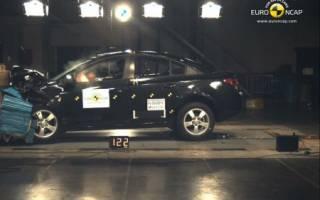 Краш-тест Chevrolet Cruze