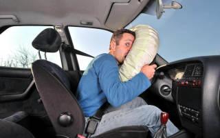 О подушках безопасности