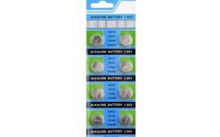 Технические характеристики и аналоги батарейки LR44