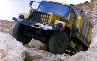 Тест вездехода ГАЗ-33081