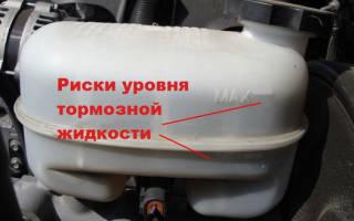 Бачки тормозной жидкости и тосола