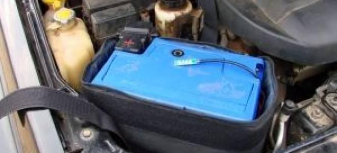 Сберегаем тепло термокейсом для аккумулятора