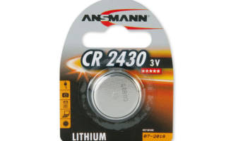 Что из себя представляет батарейка СR2450