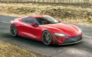 Фотошпионы увидели преемника Toyota Supra