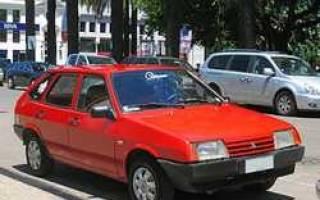 Немного истории ВАЗ-2109
