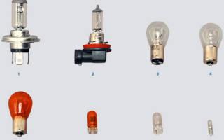 Замена ламп Рено Логан