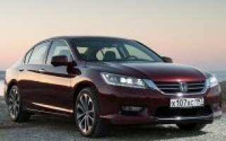 Базовая версия нового Honda Accord стала рекордно богатой
