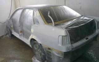 Этапы полной покраски автомобиля