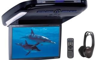 Выбираем автомобильные телевизоры с цифровым тюнером dvb t2