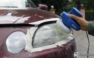 Чем выполнить полировку фар автомобиля своими руками