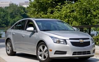 Замена передних и задних колодок Chevrolet Cruze