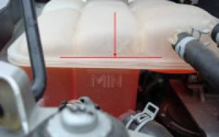 О системе охлаждения двигателя